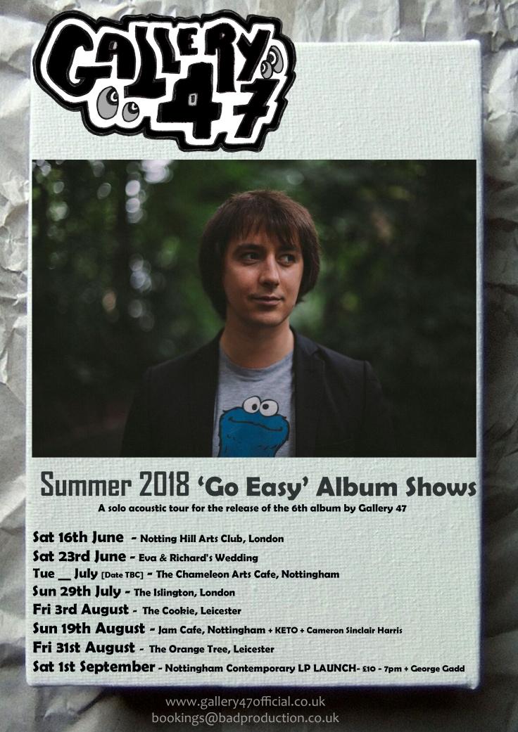 Go Easy Album Tour