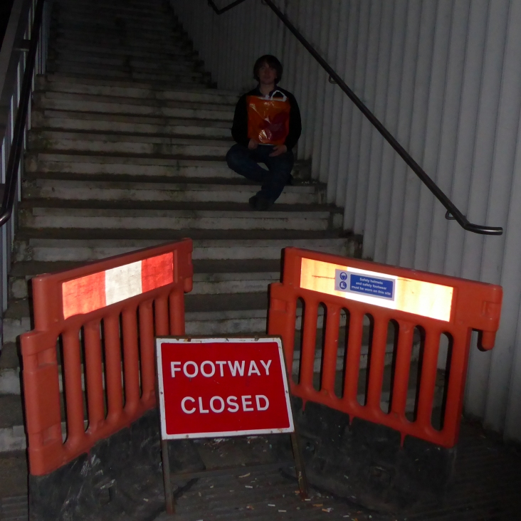 After the Gig Footway Closed